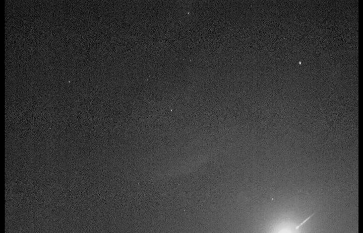 meteoro do rio de janeiro fragmentacao