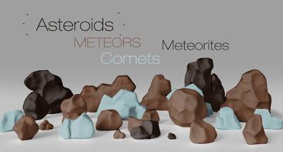names of rocks in space
