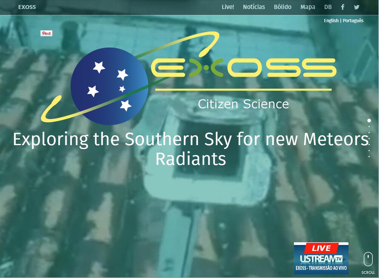 exoss homepage