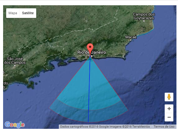 mapa estacao meteoros on