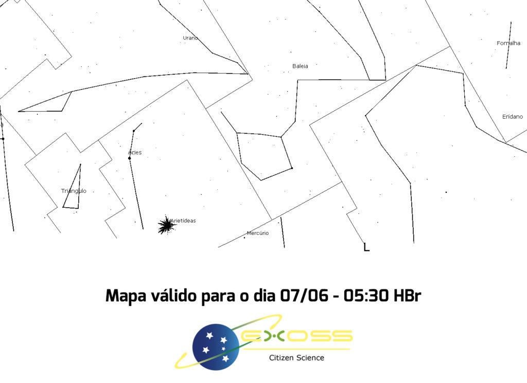 mapa arietídeas
