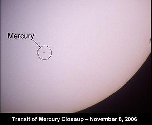 transito de mercurio em 2006