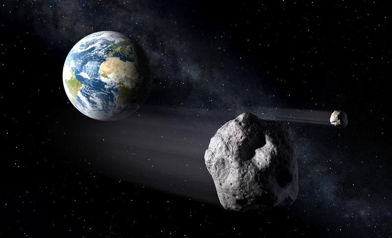 Comparação de tamanho dos asteroides