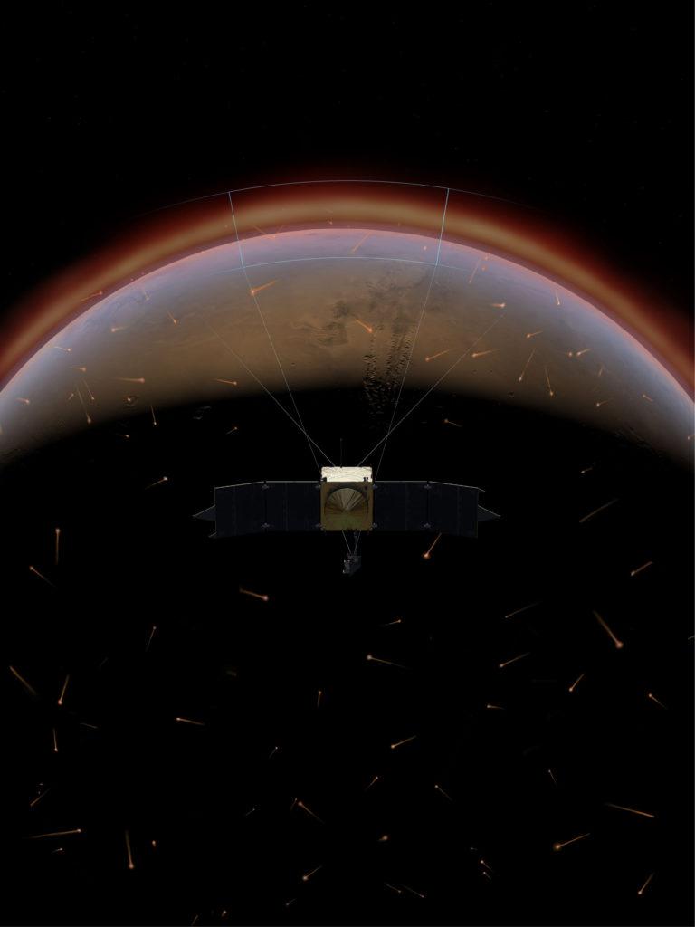 Fotos: missão MAVEN da NASA a Marte
