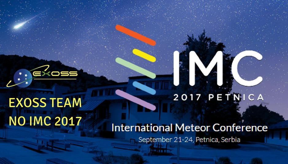 Exoss na Internacional Meteor Conference IMC 2017