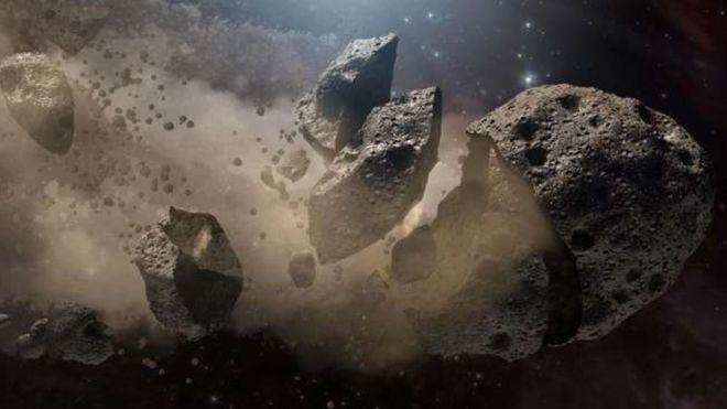 Objeto 3200 Phaeton -Imagem artística Nasa JPL-Caltech