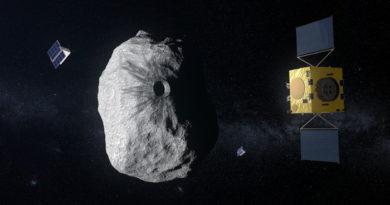 desvio teste de asteroide