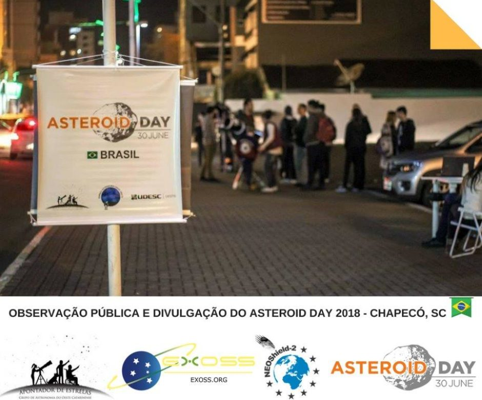 asteroida day chapeco 2018