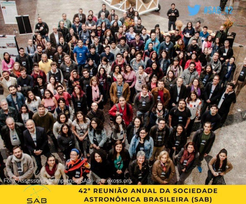 42ª Reunião Anual da Sociedade Astronômica Brasileira (SAB)