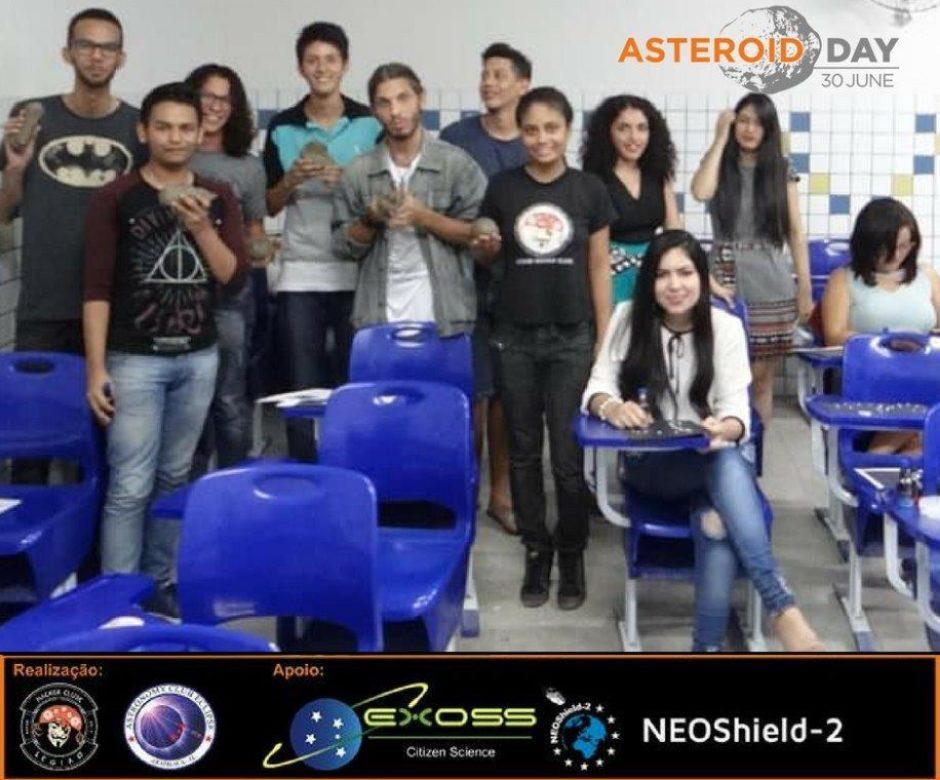 asteroid day arapiraca