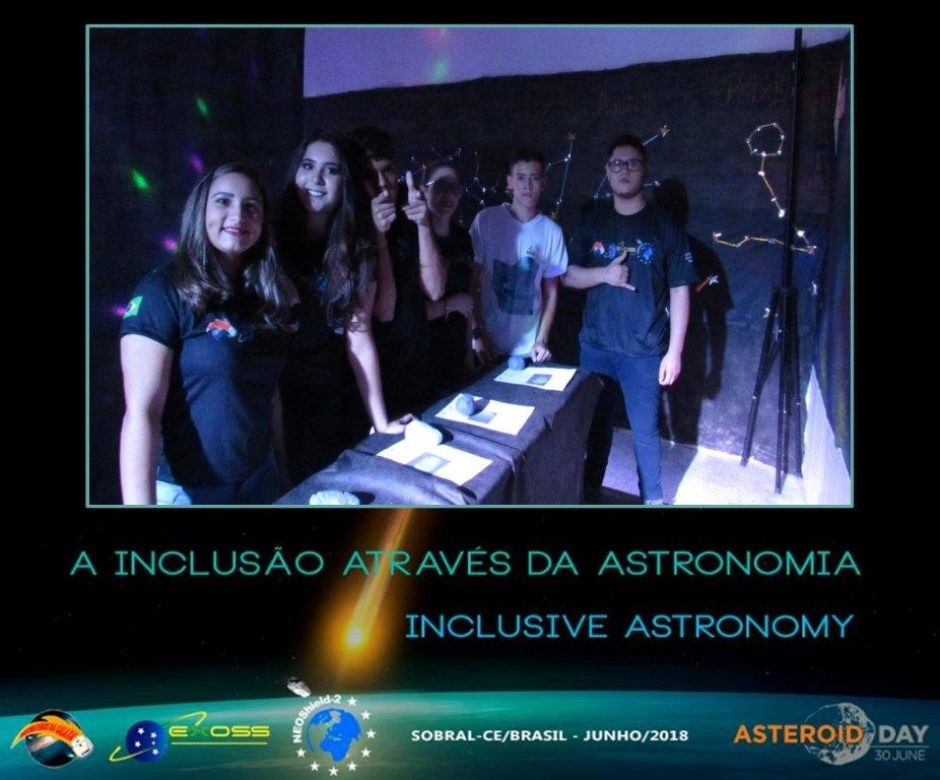 exoss asteroid day sobral 12