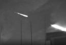 Super brilhante meteoro registrado em Guangdong na China