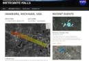 Nasa lança site oficial de quedas de meteoritos