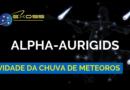 Atividade da chuva de meteoros Alpha Aurigids 2018