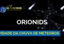 Atividade da Chuva de Meteoros Orionids para 2018