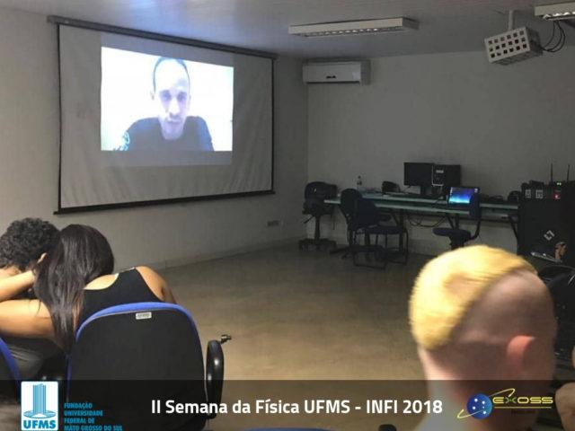 II Semana da Física UFMS – INFI 2018