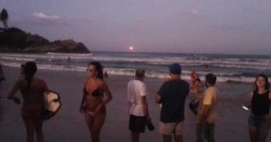 pico de luminosidade meteoro florianópolis