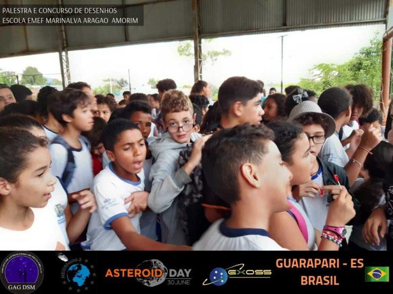 ASTEROID DAY GUARAPARI EMEF 1 15