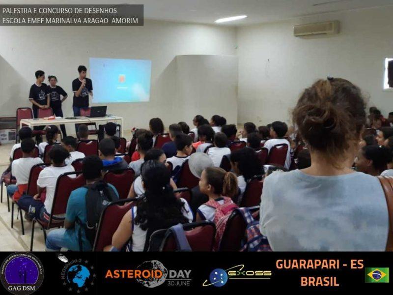 ASTEROID DAY GUARAPARI EMEF 1 7