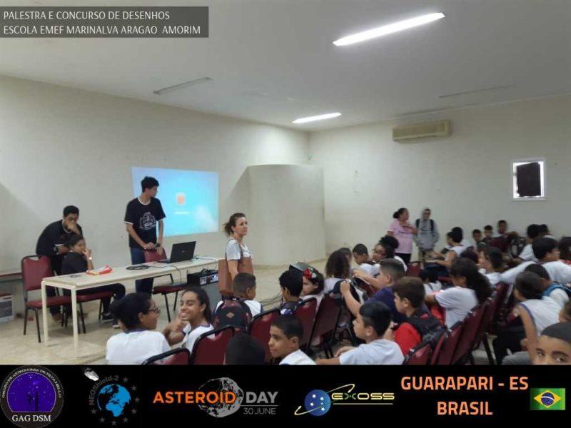 ASTEROID DAY GUARAPARI EMEF 1 8