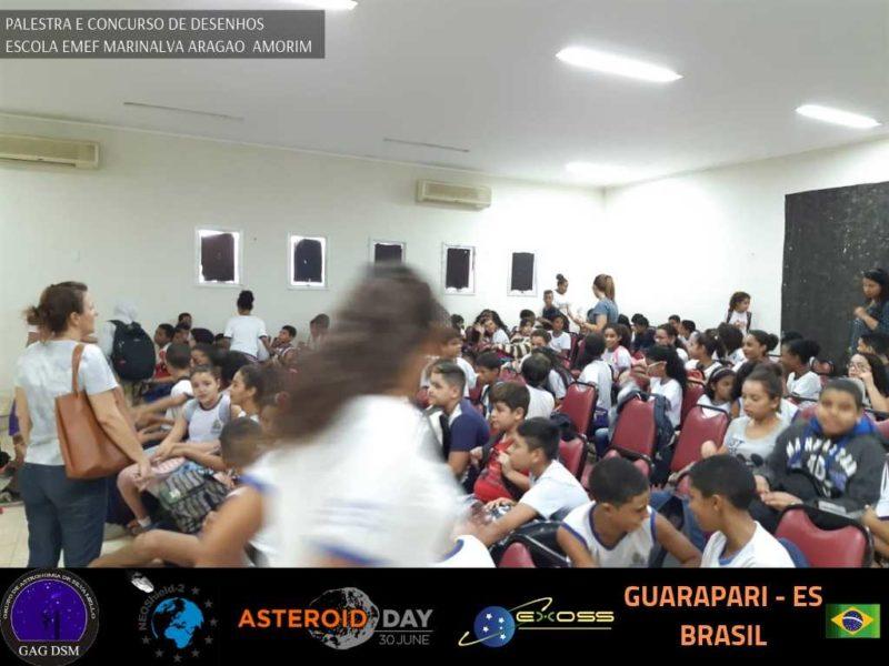 ASTEROID DAY GUARAPARI EMEF 1 9