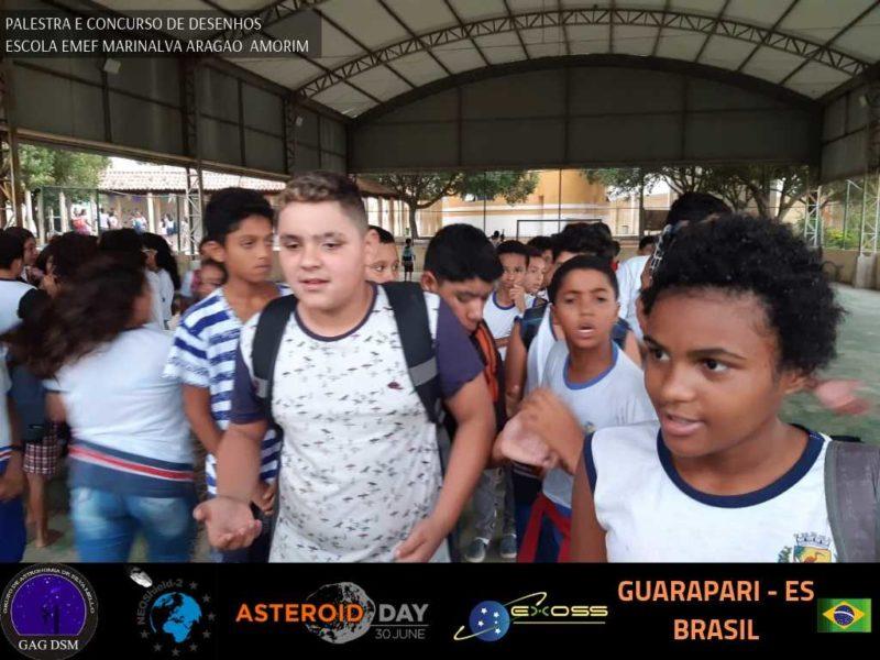 ASTEROID DAY GUARAPARI EMEF 2