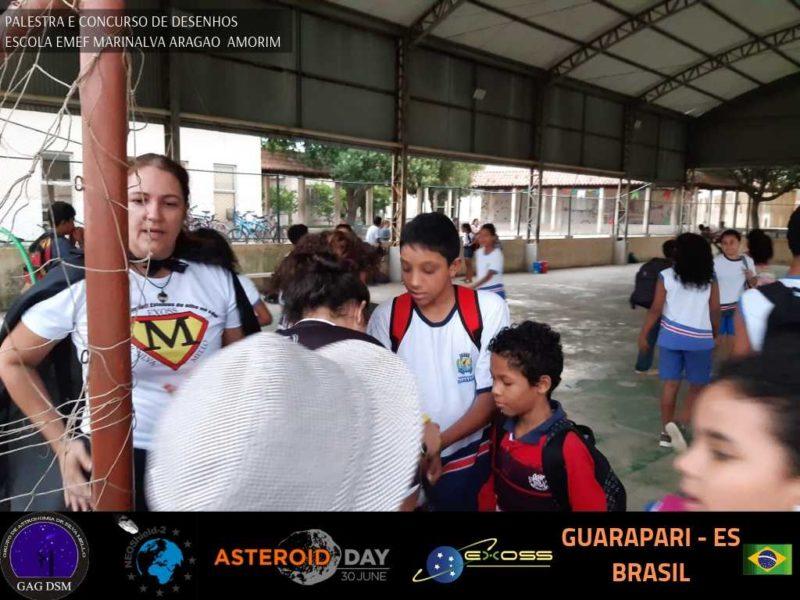 ASTEROID DAY GUARAPARI EMEF 3
