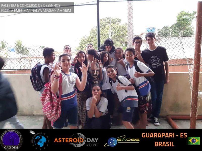 ASTEROID DAY GUARAPARI EMEF 4