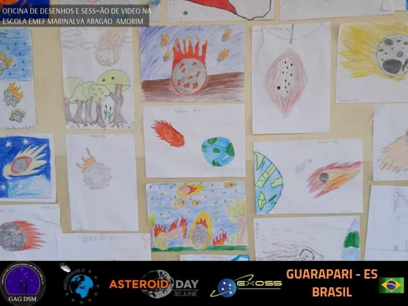 ASTEROID DAY GUARAPARI EMEF AMORIM 2