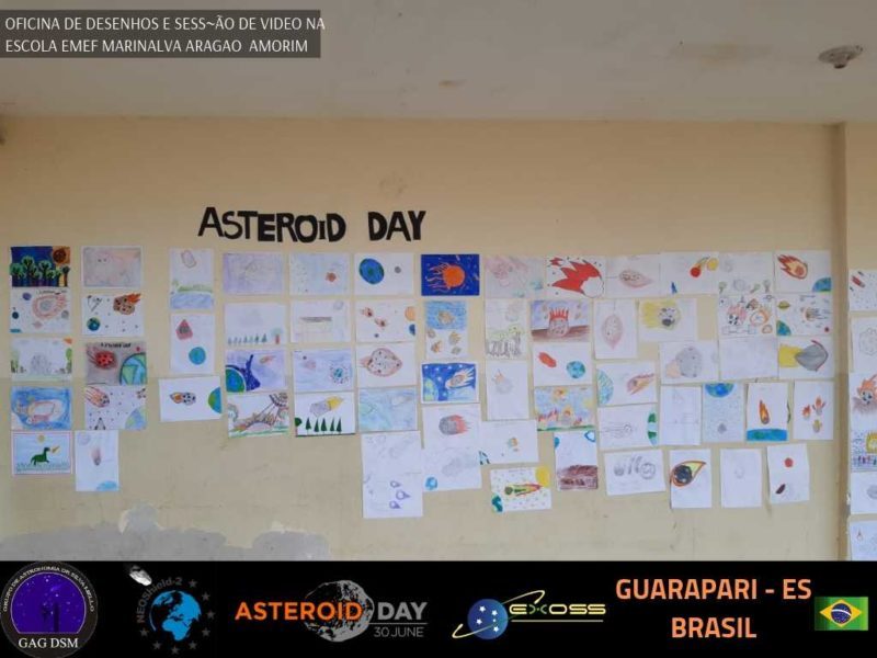 ASTEROID DAY GUARAPARI EMEF AMORIM 4