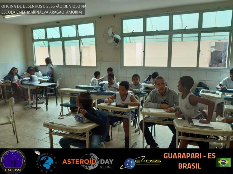ASTEROID DAY GUARAPARI EMEF AMORIM 5