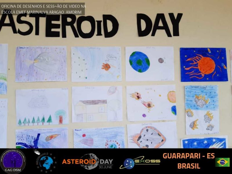 ASTEROID DAY GUARAPARI EMEF AMORIM