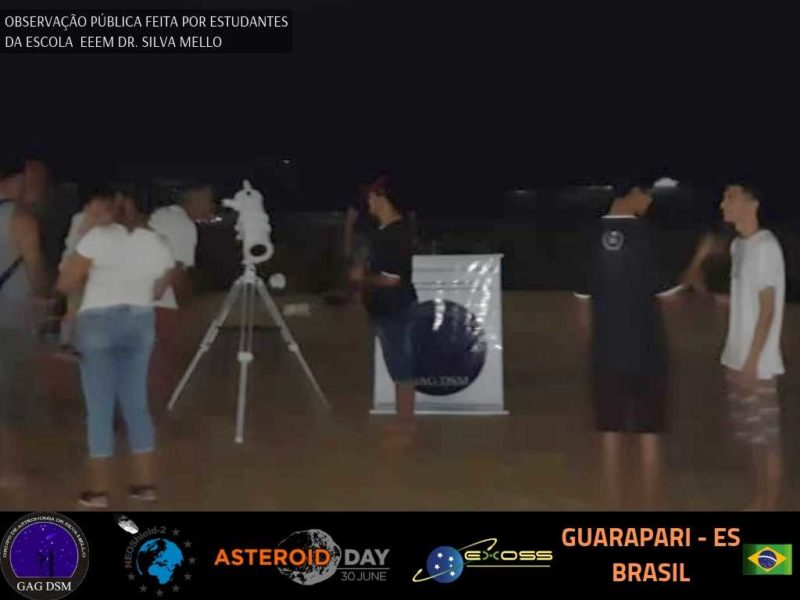 ASTEROID DAY GUARAPARI PRAIA 2