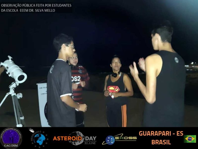 ASTEROID DAY GUARAPARI PRAIA 4