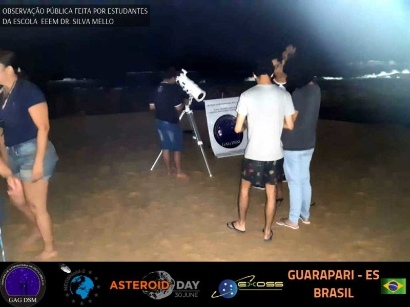 ASTEROID DAY GUARAPARI PRAIA