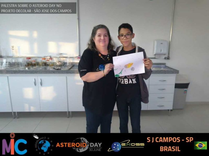 PROJETO DECOLAR ASTEROID DAY 2