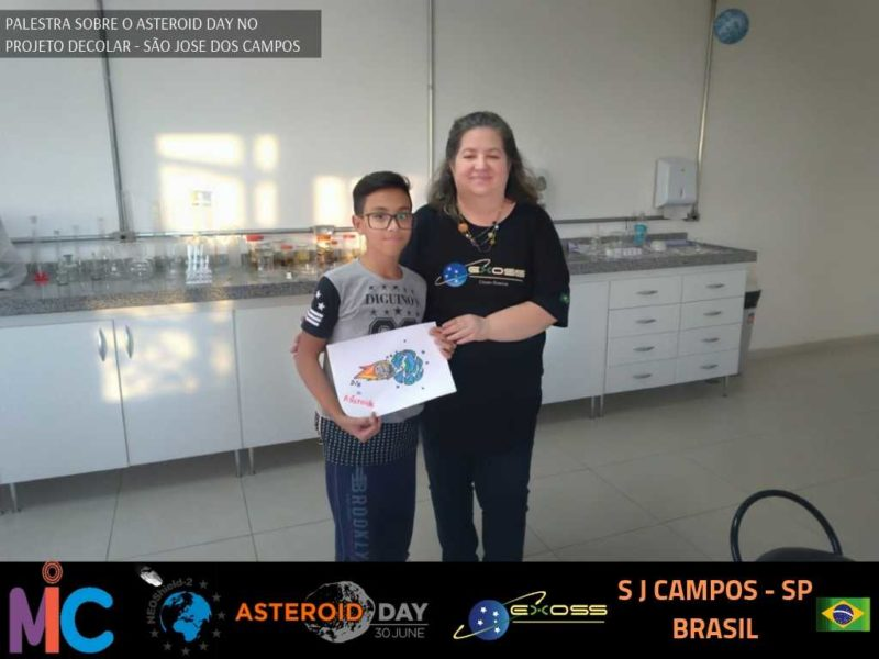 PROJETO DECOLAR ASTEROID DAY 3