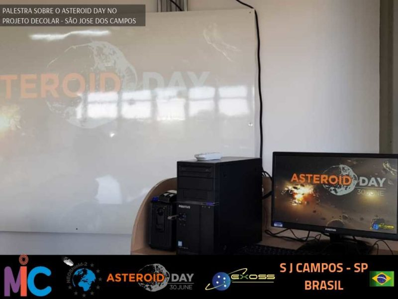 PROJETO DECOLAR ASTEROID DAY 4