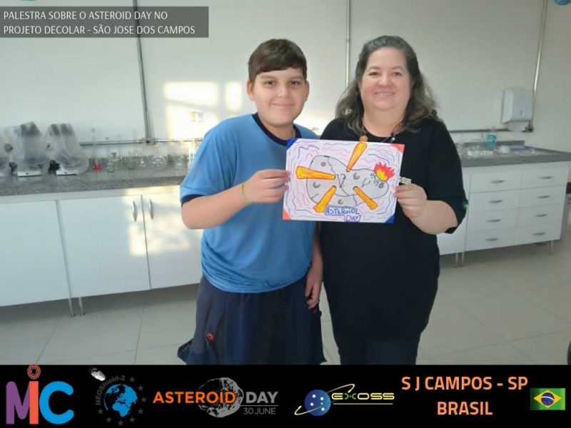 PROJETO DECOLAR ASTEROID DAY