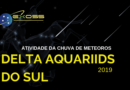 Chuva de Meteoros South Delta Aquariids 2019