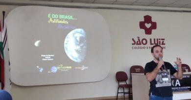 Associados Exoss presentes no VIII Simpósio Catarinense de Astronomia em Brusque