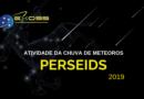 Chuva de meteoros Perseids 2019