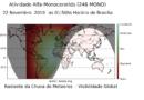 Resultados preliminares da chuva de meteoros Alpha Monocerotids