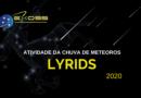 Chuva de meteoros Lyrids 2020