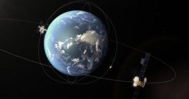 Asteroide faz rasante suborbital entre o anel de satélites geoestacionário