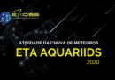 Chuva de meteoros Eta Aquariids 2020